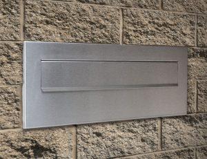 Obojstranná poštová nerezová schránka S-23-D