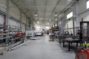 Nová výrobná hala